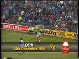 Queens Park Rangers - Nottingham Forest 15-12-1990 Division One
