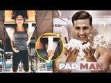 Alia Bhatt Poses With Sanitary Pad In PadMan Challenge | Akshay Kumar, Sonam Kapoor, Radhika Apte