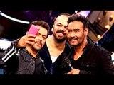 Salman's SELFIE MOMENT With Ajay Devgn & Rohit Shetty - Golmaal Again | Salman's Show