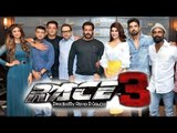 Salman Poses With Team Of Race 3 At Mehboob Studio | Daisy, Jacqueline & Remo D'Souza