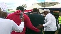 BREAKING NEWS: MIGUNA MIGUNA IS BACK Officially in KENYA (Jubilee Leaders say is Kenyan)