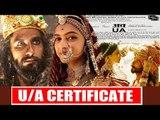 Deepika's Padmavati Changed To PADMAVAT - U/A Certified