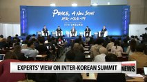 Experts talk expectations for inter-Korean summit