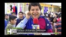 FALLECE EL REPORTERO DE TV AZTECA ARMANDO CONTRERAS GONZALEZ