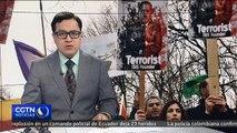 Cientos de kurdos en Alemania protestan contra operaciones militares de Turquía en el norte de Siria