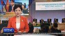 Los titulares de Defensa abordan medidas antiterroristas y expresan su apoyo a Filipinas