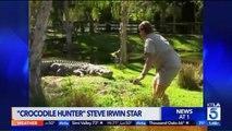 'Crocodile Hunter' Steve Irwin Posthumously Receives Hollywood Walk of Fame Honor