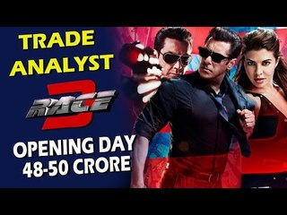 Salman's RACE 3 First Day Prediction Out | 48 - 50 Crores