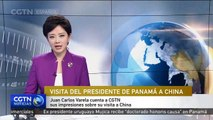 Presidente de Panamá cuenta a CGTN en Español sus impresiones sobre su visita a China