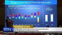 El FMI publica las Perspectivas de la Economía Mundial y las Perspectivas Económicas para China
