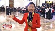Enlace con nuestra periodista He Beibei en la inauguración del XIX Congreso Nacional del PCCh