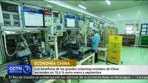 Los beneficios de las empresas estatales de China ascienden un 18,4 % entre enero y septiembre