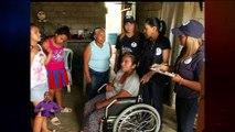 Primera dama entregó ayuda técnica a discapacitados