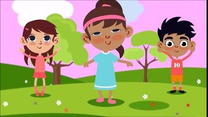 Head Shoulders Knees and Toes - Exercise & Action | Song for Kids & Nursery Rhymes - KidsMegaSongs