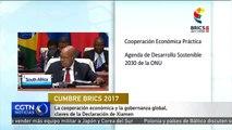 La cooperación económica y la gobernanza global, claves de la Declaración de Xiamen