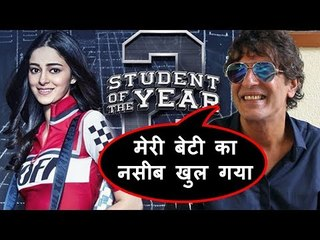 Chunky Pandey's Daughter Ananya In SOTY 2 Movie - Father's Emotional Message To Her