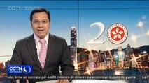 Presidente Xi Jinping concluye su visita a Hong Kong