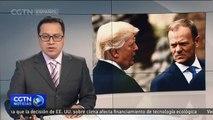 El presidente del Consejo Europeo critica la salida de EE.UU. del acuerdo sobre el cambio climático