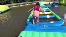 EXTREME FLOATING AQUA WARTER PARK- EPIC FUN FLOATING INFLATIBLE PLAYGROUND