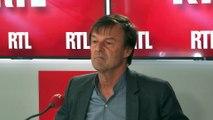 Nicolas Hulot était l'invité de RTL