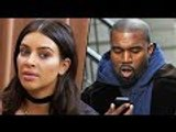 Kim Kardashian Drained By Kanye West Outburst And Wants Him To Stop Tweeting | Hollywood Buzz
