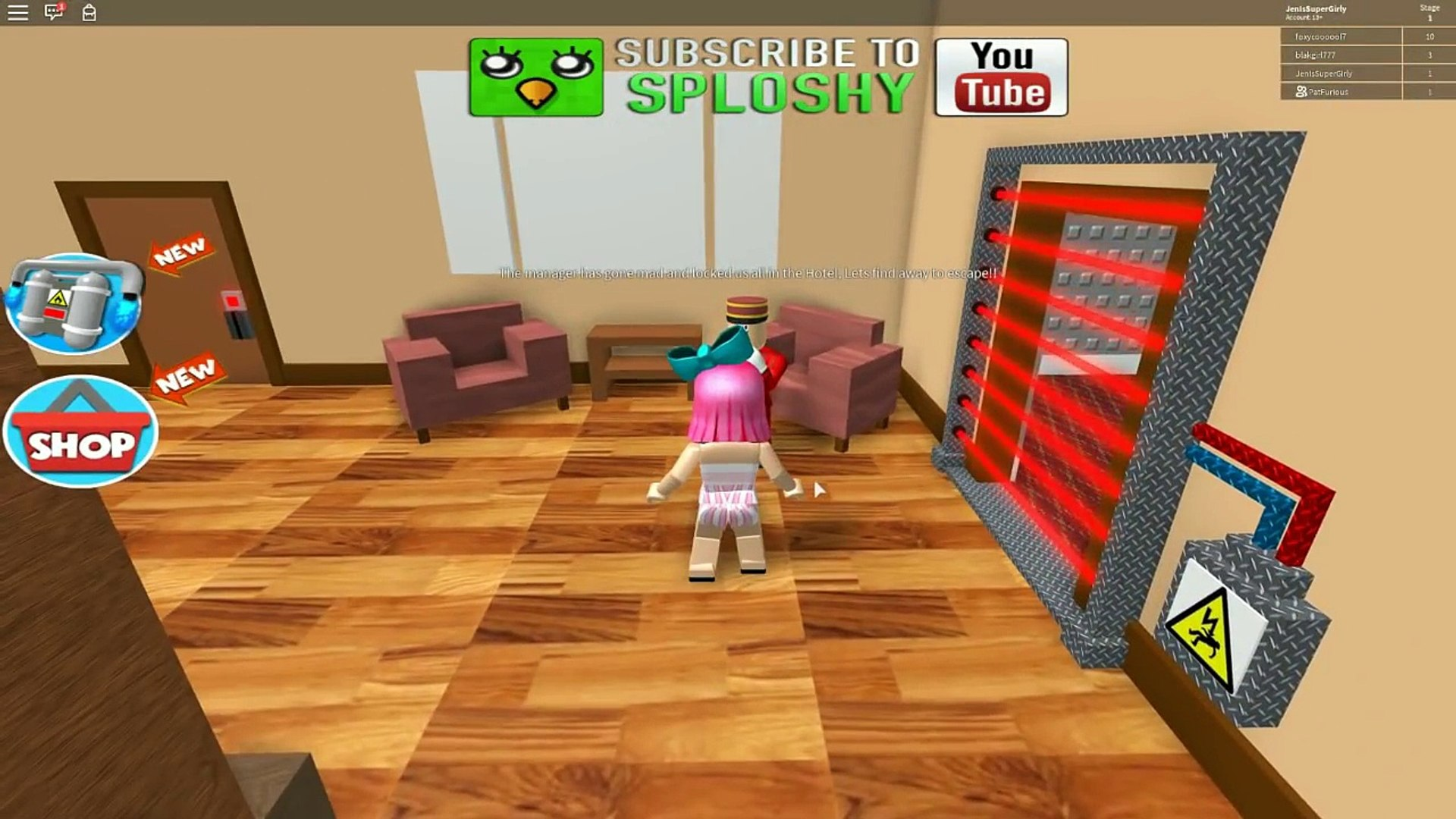 Roblox Escape The Hotel Obby Dailymotion Video
