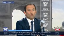 """Benoît Hamon: """"François Hollande fait partie de ces autruches qui mettent leur tête sous le sable"""""""