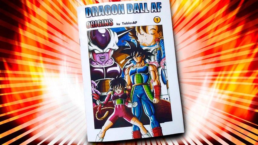 El manga original de Dragon Ball AF es español