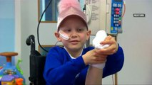 Girl's leg re-attached backwards after cancer surgery