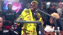 """L'animateur de """"Planète Rap"""", Fred Musa, fume un joint dans les studios de Skyrock"""