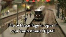 Modellbahn Schauanlage Spur N von Rautenhaus Digital Intermodellbau Dortmund 2015 - Ein Video von Pennula zum Thema Eisenbahn-Schauanlagen und Modellbau sowie Modelleisenbahnen