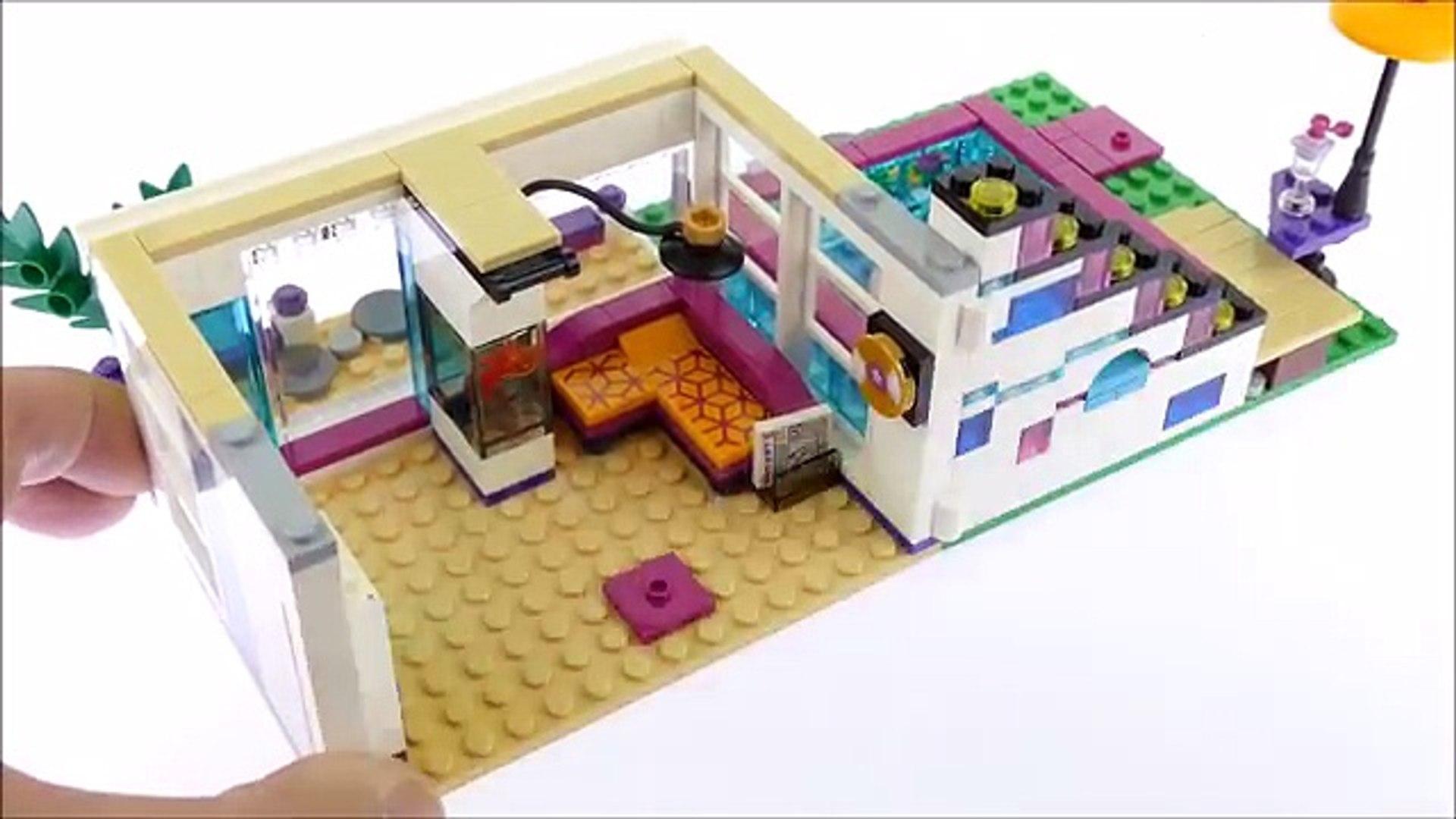 Lego Friends 19 Livis Pop Star House - Lego Speed Build Review