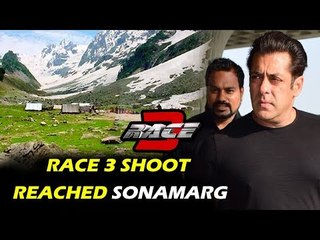 Salman Khan In Sonamarg For Race 3 Shoot
