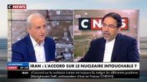 Invité de Jean-Pierre Elkabbach, l'ambassadeur d'Iran refuse de serrer la main de Clélie Mathias