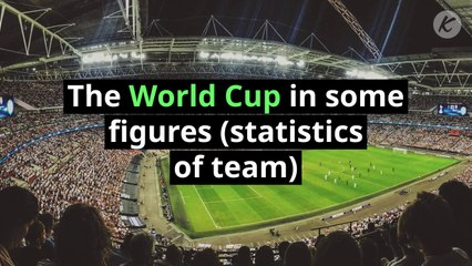The World Cup in some figures (statistics of team)