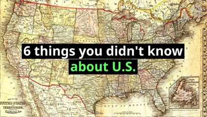 6 things you didn't know about U.S.
