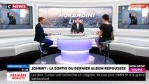 """Morandini Live –Album de Johnny Hallyday : """"Warner doit craindre qu'il ne recueille pas le succès escompté"""" (vidéo)"""