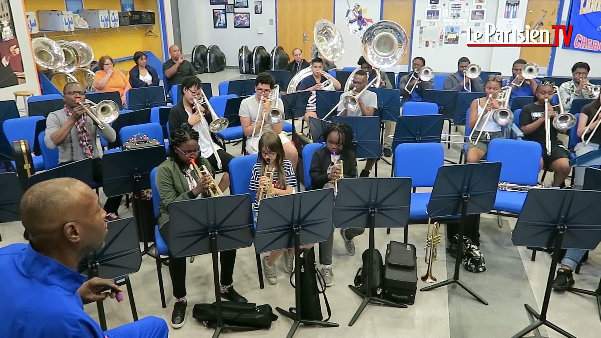 Un brass band du 93 découvre La Nouvelle-Orléans