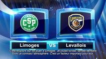 Avant match avec Klemen Prepelic, Limoges CSP - Levallois Metropolitans