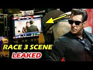 VIDEO - RACE 3 - Salman Khan's LEAKED SCENE