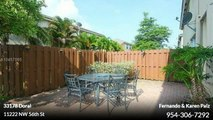 Residential For Rent: 11222 NW 56th St Doral,  $2650