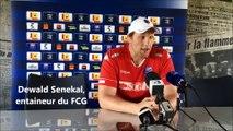 « Très épais partout » Dewald Senekal, entraineur du FCG avant la demi-finale de Pro D2 de rugby à Montauban