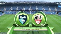 Résumé de HAC - AC Ajaccio (2-0) du 27/04/2018