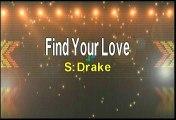Drake Find Your Love Karaoke Version