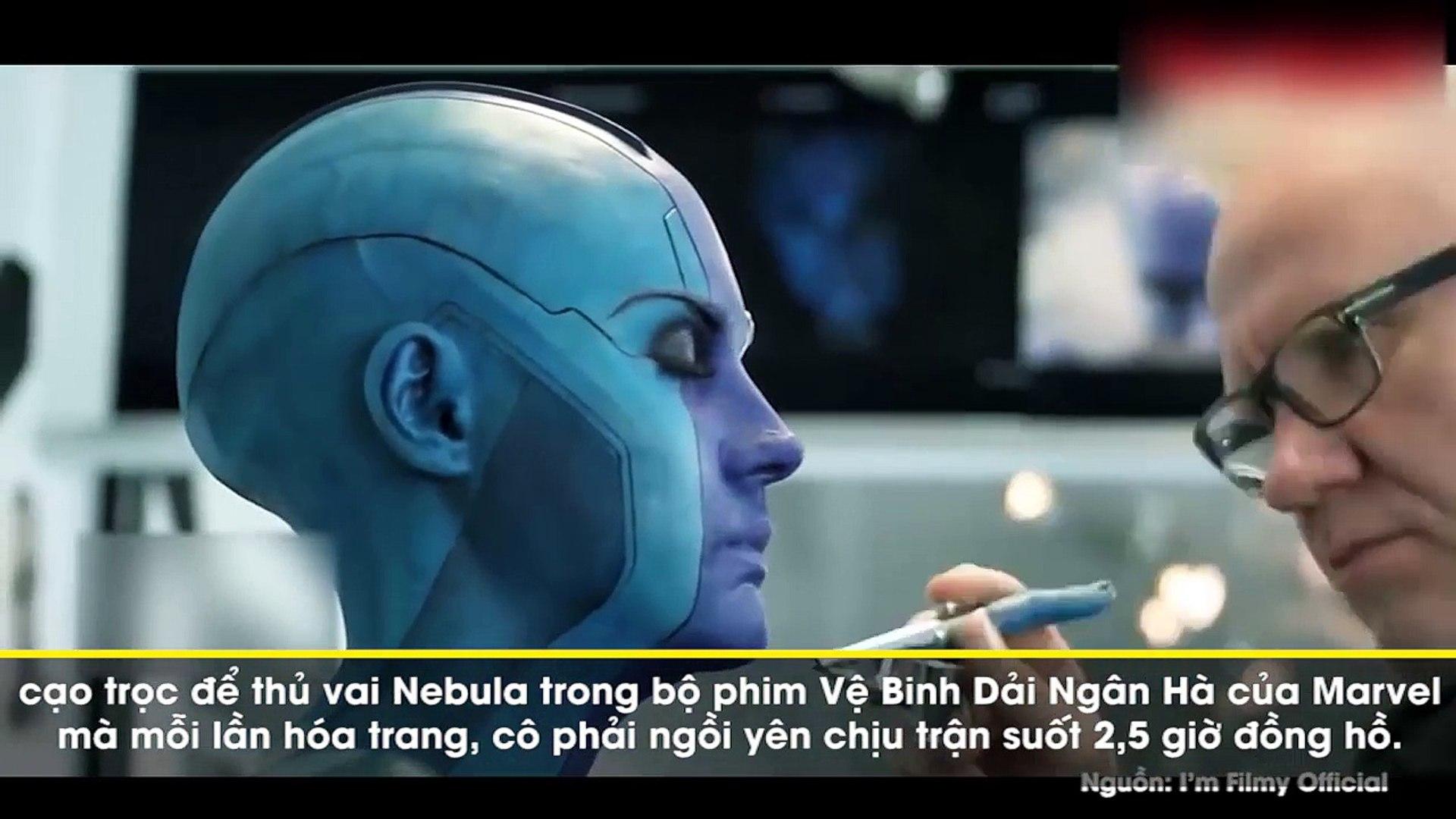 Fan Marvel sửng sốt khi phát hiện Nebula xấu xí trong phim là mỹ nhân -cực phẩm- ngoài đời thế này
