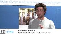 Entretien avec Maxime de Rostolan (Bluebees et Fermes d'Avenir) à la COP21