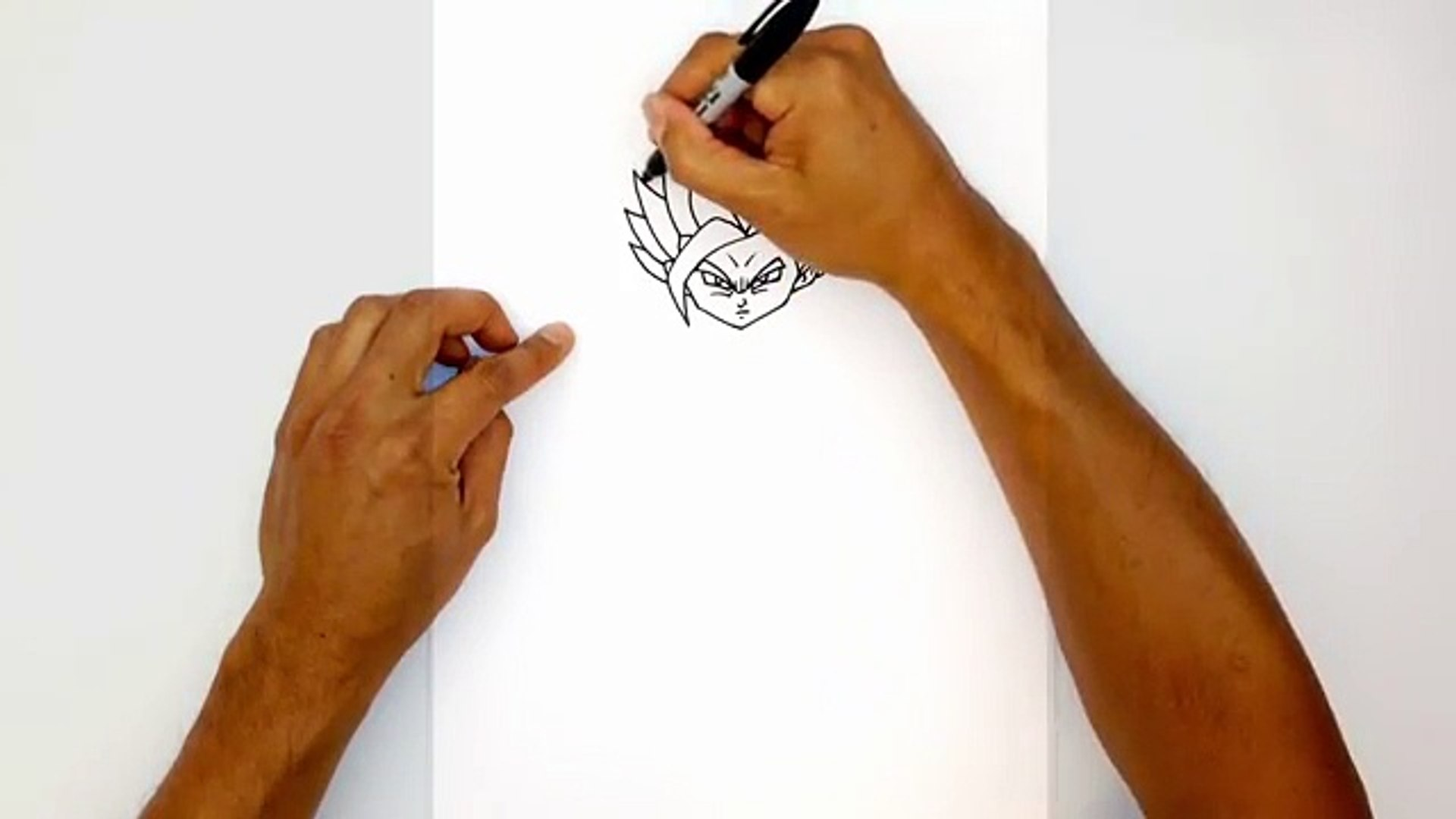 How To Draw Teen Gohan Ssj2 Dragon Ball Z