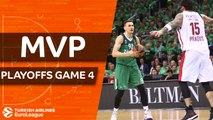 Turkish Airlines EuroLeague Playoffs Game 4 MVP: Edgaras Ulanovas, Zalgiris Kaunas