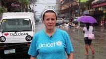 Emergencia Filipinas: Desde Filipinas, UNICEF te agradece tu colaboración