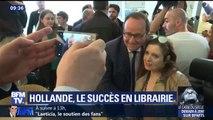 """François Hollande signe un carton en librairie avec son livre """"Les Leçons du pouvoir"""""""
